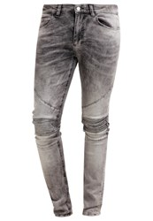 Religion Crypt Slim Fit Jeans Grey Vein