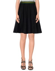 Alice San Diego Skirts Knee Length Skirts Women Black