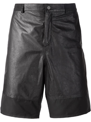 T By Alexander Wang Panelled Shorts