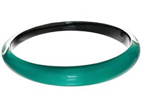 Alexis Bittar Tapered Bangle Bracelet Jungle Green Bracelet Olive