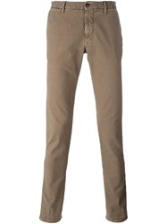 Incotex Twill Chinos Nude And Neutrals