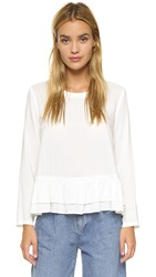 Rodebjer Lindy Top White