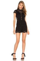 Nightcap Marais Romper Black