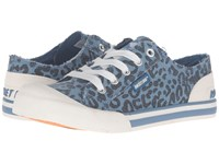 Rocket Dog Jazzin Blue Alley Cat Women's Lace Up Casual Shoes