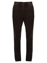 Givenchy Stud Embellished Cuban Fit Jeans Black