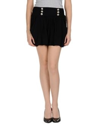 Molly Bracken Mini Skirts Black