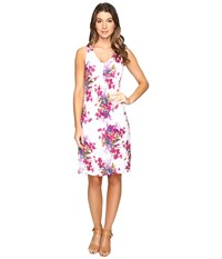 Tommy Bahama Floria Florals Dress Bright White Women's Dress