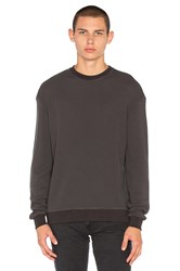 John Elliott Oversized Thermal Crew Slate