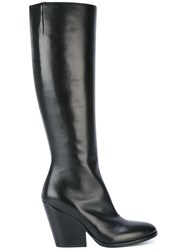 A.F.Vandevorst Side Zip Boots Black