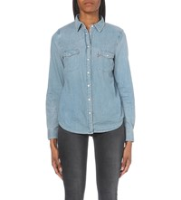 Levi's Modern Slim Fit Denim Shirt Seascape Light