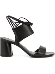 3.1 Phillip Lim 'Martini' Sandals Black