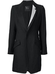 Y's Tailored Jacket Black