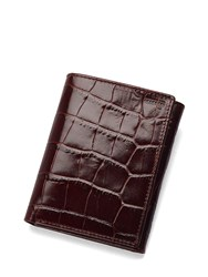 Aspinal Of London Trifold Wallet Brown