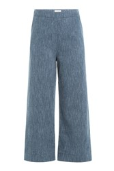Isa Arfen Cropped Pants Blue