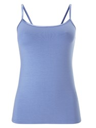 Phase Eight Satin Binding Camisole Blue