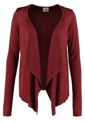 Vero Moda Vmrubi Meghan Cardigan Fired Brick Brown