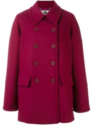 Stella Mccartney Pocket Detail Peacoat Pink And Purple