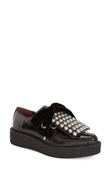 Marc By Marc Jacobs 'Berry' 40Mm Oxford Loafer Women Black