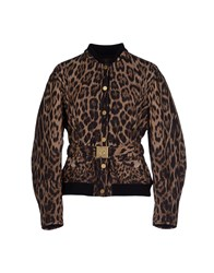 Roberto Cavalli Coats And Jackets Jackets Women Brown