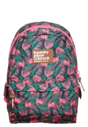 Superdry Hawaiian Leafs Rucksack Green Pink Multicoloured