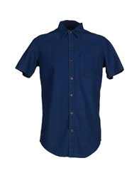 Deus Ex Machina Shirts Shirts Men Dark Blue