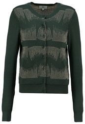 Noa Noa Cardigan Art Green