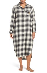 Lauren Ralph Lauren Plus Size Women's Plaid Woven Nightgown