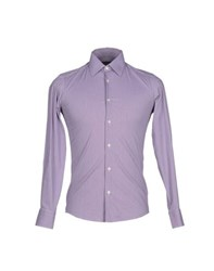 Lab. Pal Zileri Shirts Shirts Men Purple