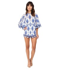 Alice Mccall Young Hearts Run Free Playsuit Blue Women's Jumpsuit And Rompers One Piece