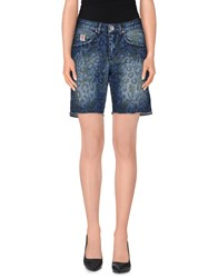 Franklin And Marshall Denim Denim Shorts Women Blue