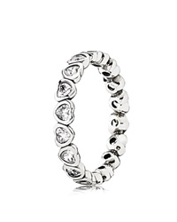 Pandora Design Pandora Ring Sterling Silver And Cubic Zirconia Forever More
