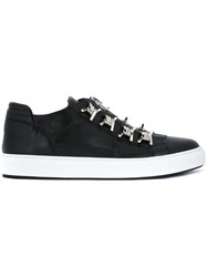 Dsquared2 Zip Detail Sneakers Black