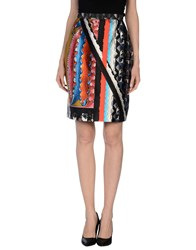 Peter Pilotto Skirts Knee Length Skirts Women Black