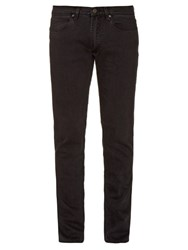 Acne Studios Max Used Cash Slim Leg Jeans Black