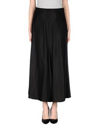 Blumarine Long Skirts Black
