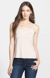 Eileen Fisher Scoop Neck Camisole Online Only Regular And Petite Buttercream