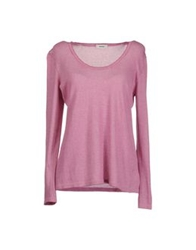 Base London Base Long Sleeve Sweaters Fuchsia