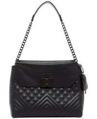 Guess Rebel Roma Shoulder Bag Black