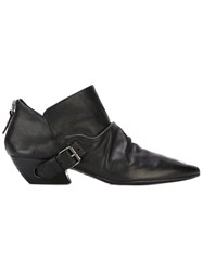 Marsell Buckle Detail Boots Black