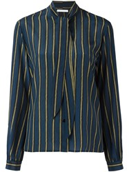 Societe Anonyme 'Ribbon' Shirt Blue