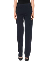 Stefanel Trousers Casual Trousers Women Dark Blue