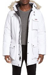 Penfield Men's Lexington Hooded Parka White