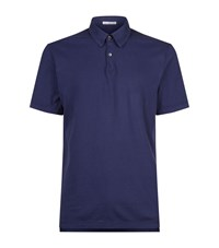 James Perse Revised Polo Shirt Male Blue