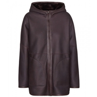 Loro Piana Kolby Reversible Leather And Shearling Jacket Brown