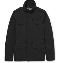 Givenchy Cotton Canvas Field Jacket Black