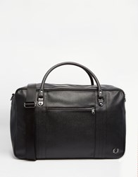 Fred Perry Scotch Grain Carryall Black