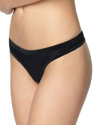 Felina Treasure Thong Black