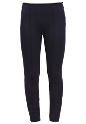 Gap Trousers Navy Dark Blue