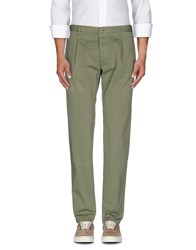 Officina 36 Trousers Casual Trousers Men Military Green