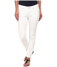 Jag Jeans Erin Cuffed Slim Ankle In White White Women's Jeans